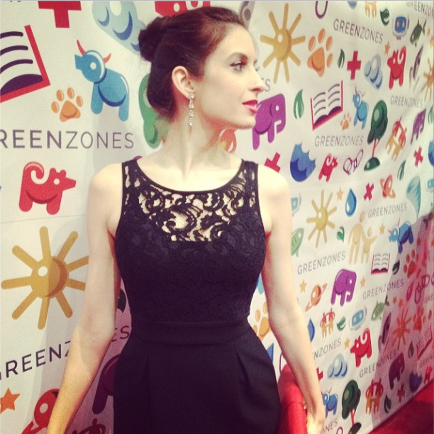 Katalin on the Red Carpet at For The Stars Fashion House